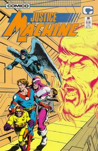 Cover Thumbnail for Justice Machine (Comico, 1987 series) #28