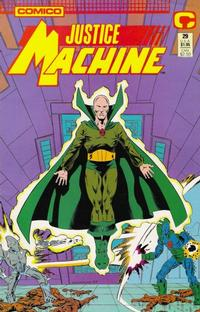 Cover Thumbnail for Justice Machine (Comico, 1987 series) #29