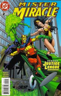 Cover Thumbnail for Mister Miracle (DC, 1996 series) #2