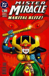 Cover Thumbnail for Mister Miracle (DC, 1996 series) #5