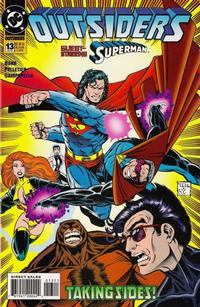 Cover Thumbnail for Outsiders (DC, 1993 series) #13