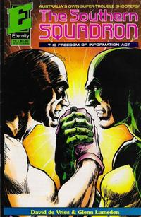 Cover Thumbnail for Southern Squadron: Freedom of Information Act (Malibu, 1992 series) #2