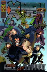 Cover Thumbnail for X-Men: Alpha (Marvel, 1995 series) #1 [Direct Edition]