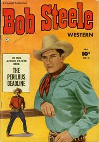 Cover Thumbnail for Bob Steele Western (Fawcett, 1950 series) #3