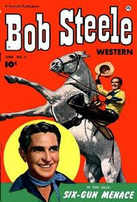 Cover Thumbnail for Bob Steele Western (Fawcett, 1950 series) #4
