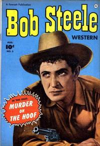 Cover Thumbnail for Bob Steele Western (Fawcett, 1950 series) #5
