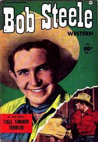 Cover Thumbnail for Bob Steele Western (Fawcett, 1950 series) #7
