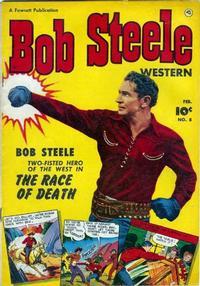Cover Thumbnail for Bob Steele Western (Fawcett, 1950 series) #8