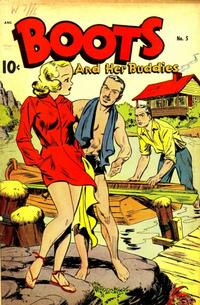 Cover Thumbnail for Boots and Her Buddies (Pines, 1948 series) #5