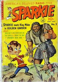 Cover Thumbnail for Sparkie (Ziff-Davis, 1951 series) #2