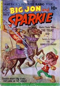 Cover Thumbnail for Sparkie (Ziff-Davis, 1951 series) #3