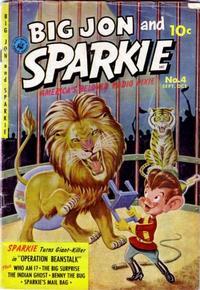 Cover Thumbnail for Big Jon & Sparkie (Ziff-Davis, 1952 series) #4