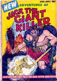 Cover Thumbnail for Jack the Giant Killer (Bimfort, Inc, 1953 series) #1