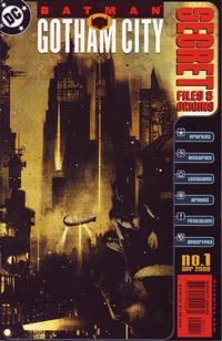 Cover Thumbnail for Batman: Gotham City Secret Files (DC, 2000 series) #1
