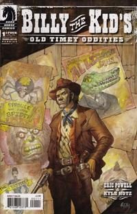 Cover Thumbnail for Billy the Kid's Old Timey Oddities (Dark Horse, 2005 series) #1