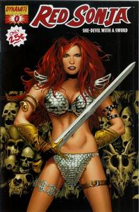 Cover Thumbnail for Red Sonja (Dynamite Entertainment, 2005 series) #0 [Cover B]
