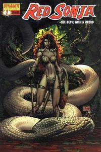 Cover Thumbnail for Red Sonja (Dynamite Entertainment, 2005 series) #1 [Michael Turner Cover]