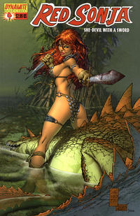Cover Thumbnail for Red Sonja (Dynamite Entertainment, 2005 series) #4 [Marc Silvestri Cover]