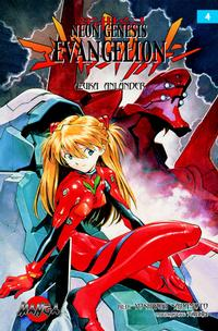 Cover Thumbnail for Neon Genesis Evangelion (Bonnier Carlsen, 2004 series) #4