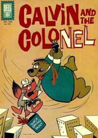 Cover for Four Color (Dell, 1942 series) #1354 - Calvin and the Colonel