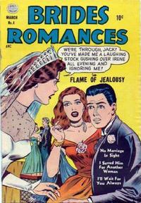 Cover Thumbnail for Brides Romances (Quality Comics, 1953 series) #4
