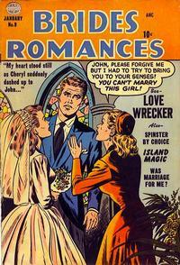 Cover Thumbnail for Brides Romances (Quality Comics, 1953 series) #9