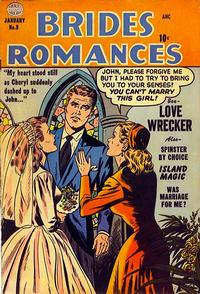 Cover Thumbnail for Brides Romances (Quality Comics, 1953 series) #9