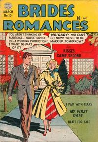 Cover Thumbnail for Brides Romances (Quality Comics, 1953 series) #10