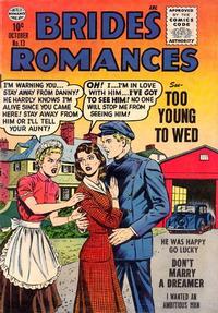 Cover Thumbnail for Brides Romances (Quality Comics, 1953 series) #13