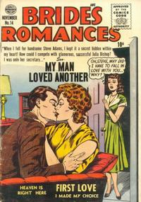Cover Thumbnail for Brides Romances (Quality Comics, 1953 series) #14