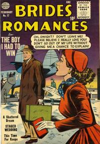 Cover Thumbnail for Brides Romances (Quality Comics, 1953 series) #17