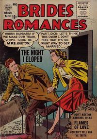 Cover Thumbnail for Brides Romances (Quality Comics, 1953 series) #18