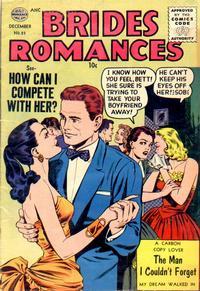Cover Thumbnail for Brides Romances (Quality Comics, 1953 series) #23