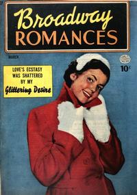 Cover for Broadway Romances (Quality Comics, 1950 series) #2
