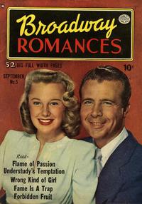 Cover Thumbnail for Broadway Romances (Quality Comics, 1950 series) #5