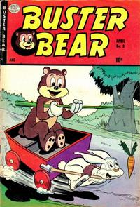 Cover Thumbnail for Buster Bear (Quality Comics, 1953 series) #3