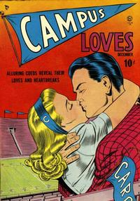 Cover Thumbnail for Campus Loves (Quality Comics, 1949 series) #1