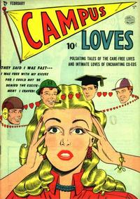 Cover Thumbnail for Campus Loves (Quality Comics, 1949 series) #2