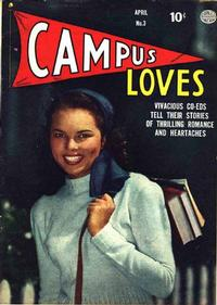 Cover Thumbnail for Campus Loves (Quality Comics, 1949 series) #3