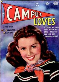Cover Thumbnail for Campus Loves (Quality Comics, 1949 series) #4