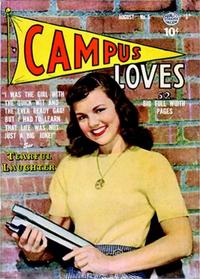 Cover Thumbnail for Campus Loves (Quality Comics, 1949 series) #5