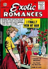 Cover Thumbnail for Exotic Romances (Quality Comics, 1955 series) #22