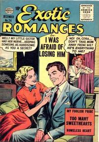 Cover Thumbnail for Exotic Romances (Quality Comics, 1955 series) #24