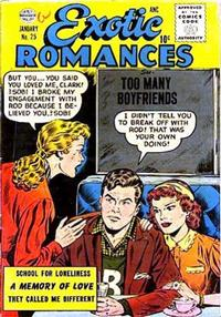 Cover Thumbnail for Exotic Romances (Quality Comics, 1955 series) #25