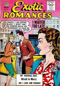 Cover Thumbnail for Exotic Romances (Quality Comics, 1955 series) #27