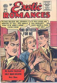 Cover Thumbnail for Exotic Romances (Quality Comics, 1955 series) #28