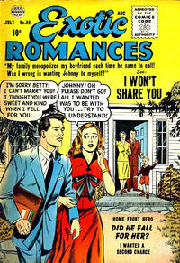 Cover Thumbnail for Exotic Romances (Quality Comics, 1955 series) #30
