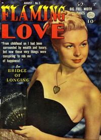 Cover Thumbnail for Flaming Love (Quality Comics, 1949 series) #5