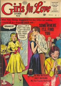 Cover Thumbnail for Girls in Love (Quality Comics, 1955 series) #46