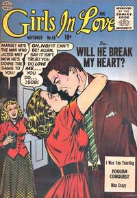 Cover Thumbnail for Girls in Love (Quality Comics, 1955 series) #48